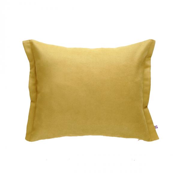 musztardowa poduszka